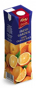 CBA Premium Fresh Garden 100 % orange juice 1 l
