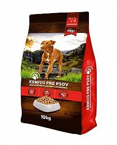 CBA krmivo pre psov s hovädzinou 10 kg (granule)