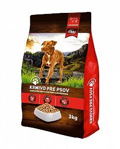 CBA krmivo pre psov s hovädzinou 3 kg (granule)