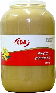 CBA Horčica plnotučná 3500 g