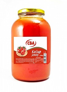 CBA Kečup jemný sterilizovaný 3700 g (sklo)