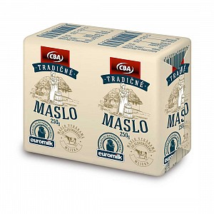 CBA Tradičné maslo 250 g