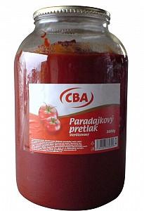 CBA Paradajkový pretlak sterilizovaný 3 600 g (sklo)