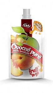 CBA Ovocné pyré jablko broskyňa 120 g