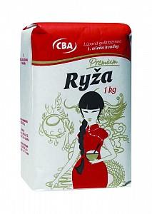 CBA Premium Ryža lúpaná guľatozrnná 1. trieda kvality 1 kg