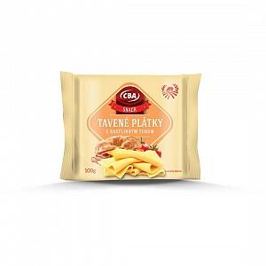 CBA Tavené plátky s rastlinným tukom snack 100 g