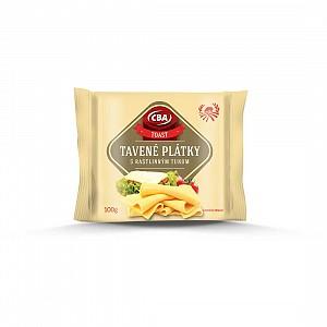 CBA Tavené plátky s rastlinným tukom toast 100 g