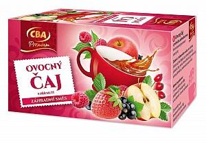 CBA Premium Ovocný čaj s príchuťou záhradná zmes 40 g