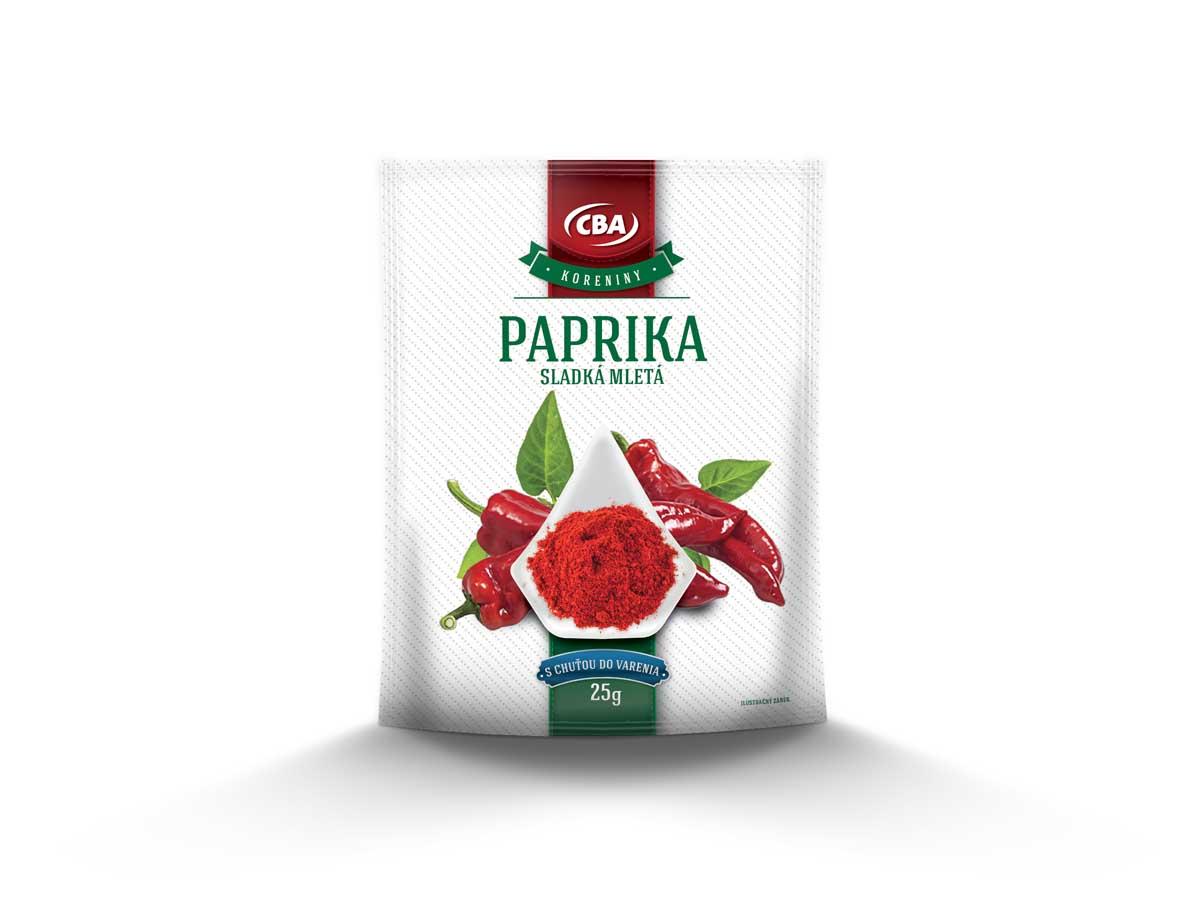 CBA Paprika sladká mletá 25 g