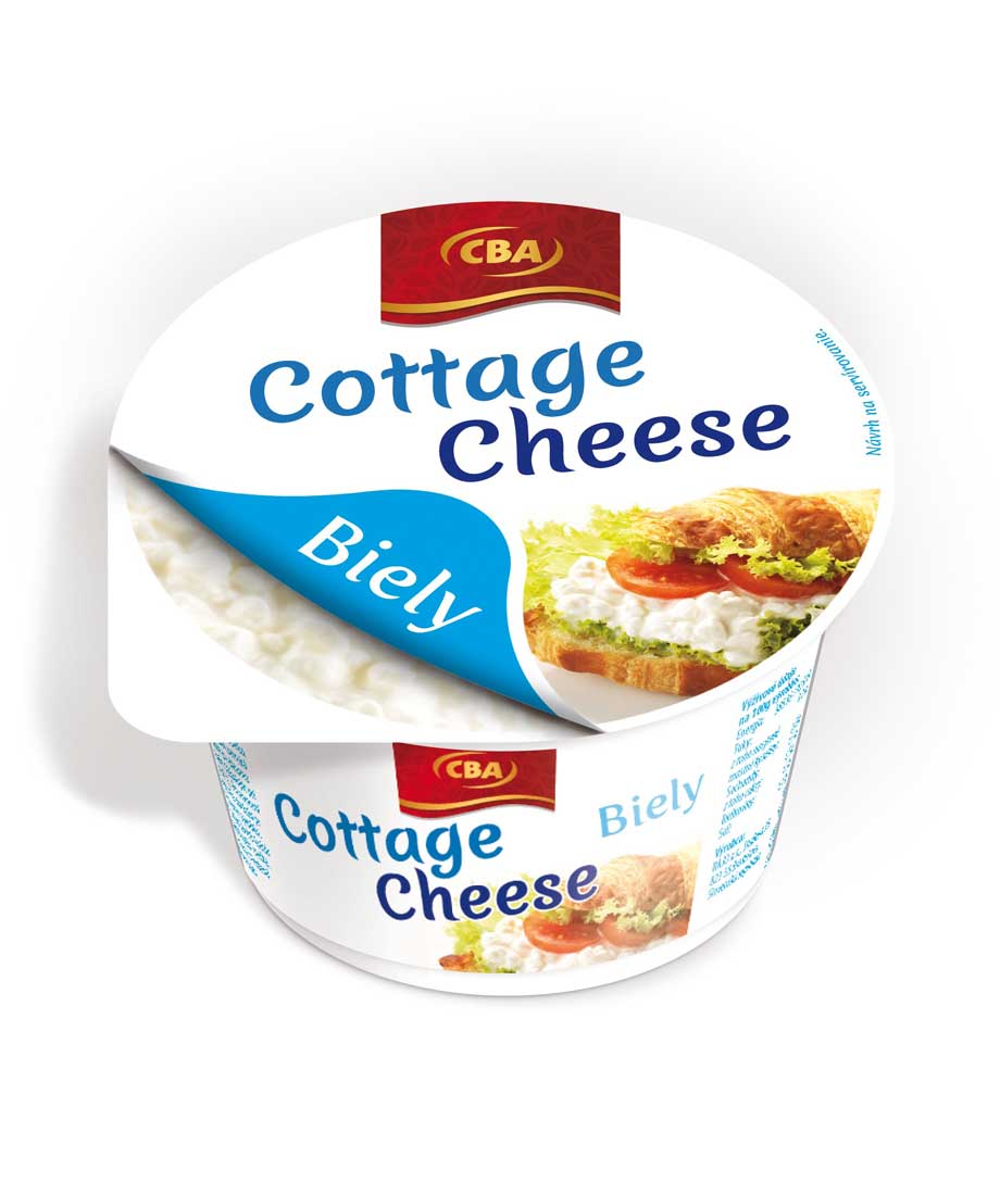 CBA cottage cheese biely 180 g